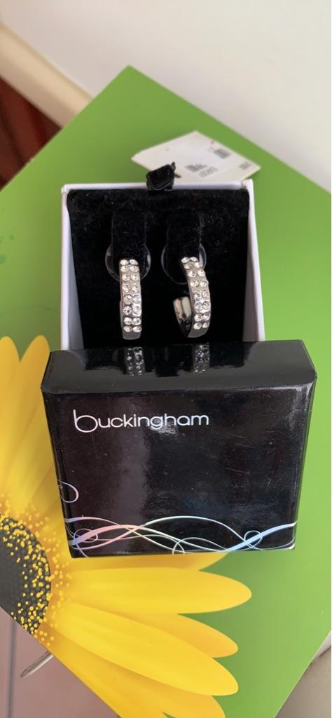 Boxed Buckingham Earrings