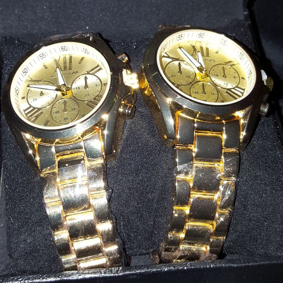 Couples MK Watch Set
