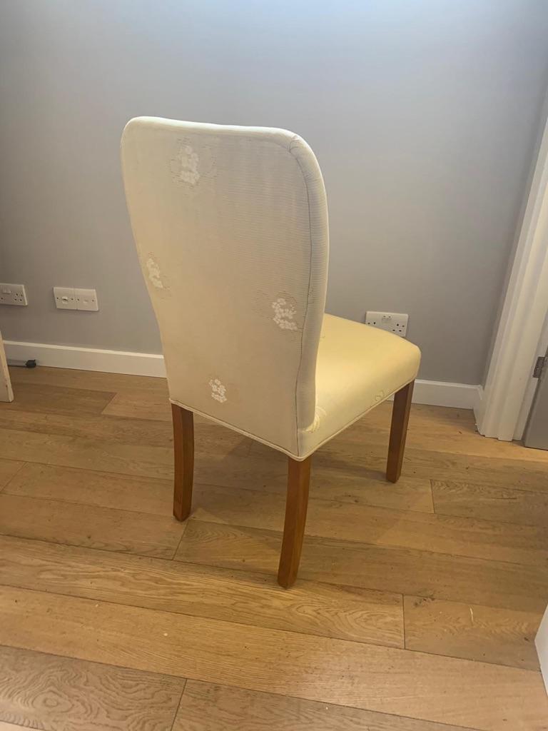 6 handmade dining room chairs