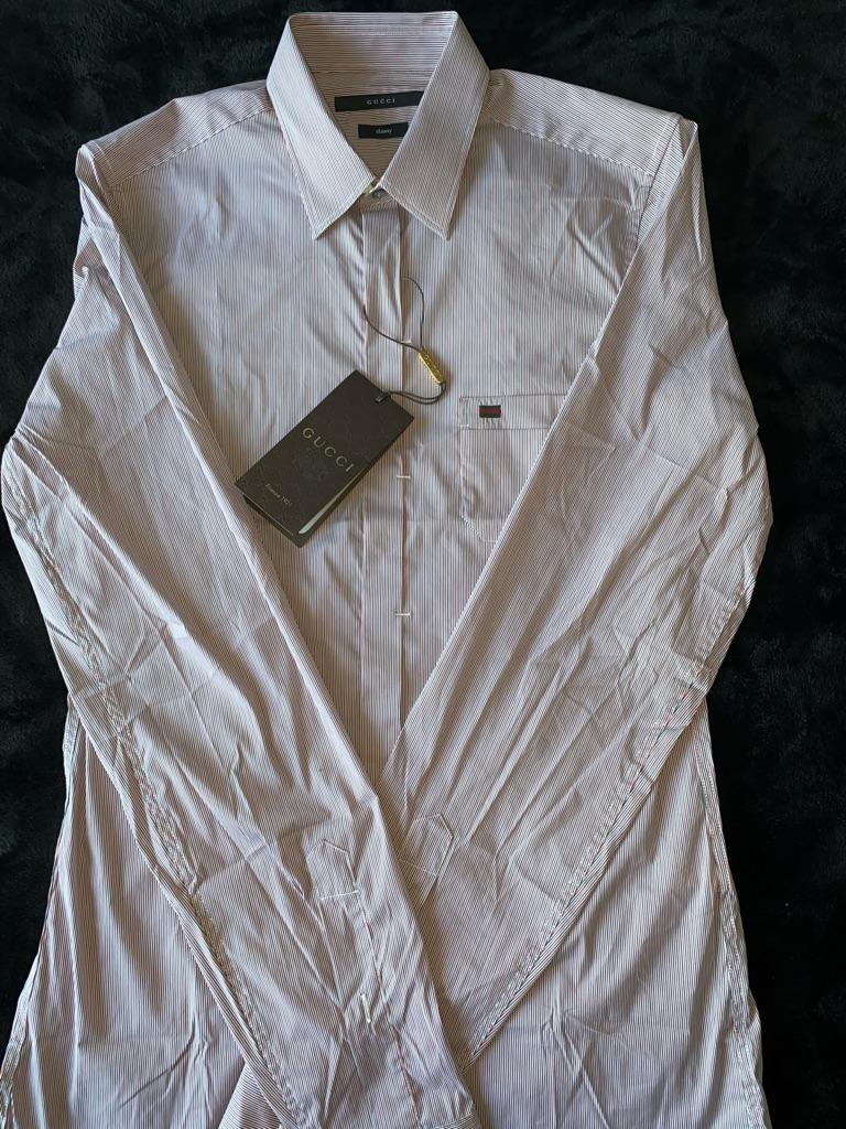 Tailored Gucci Shirt(Never Worn)