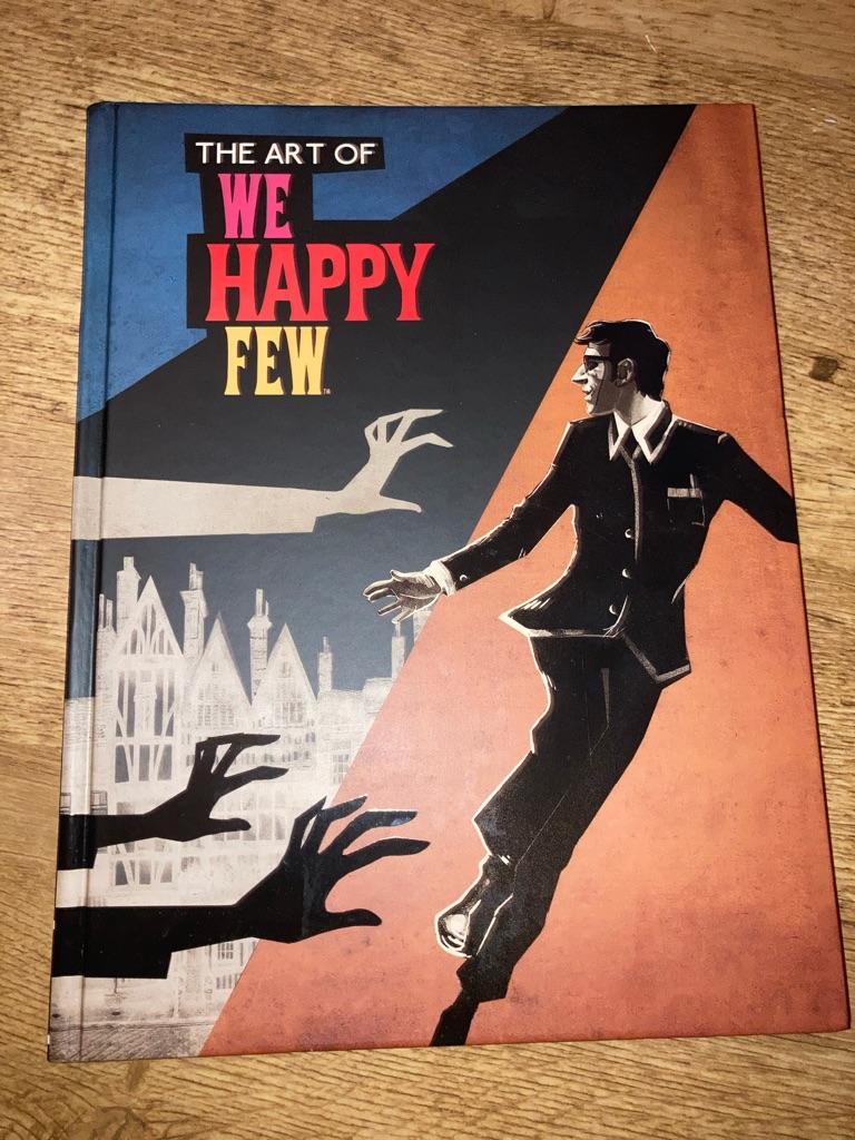 We happy few art book