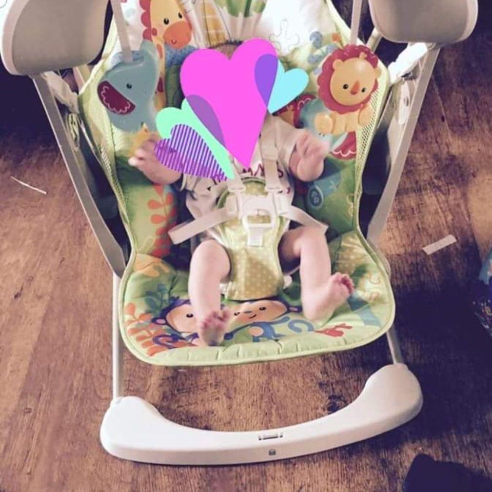 Fisher price jungle swinging chair