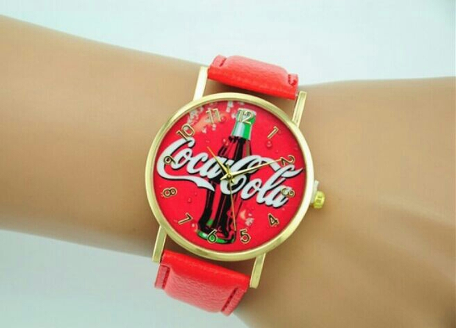 Watches Fashionable Coca_Cola