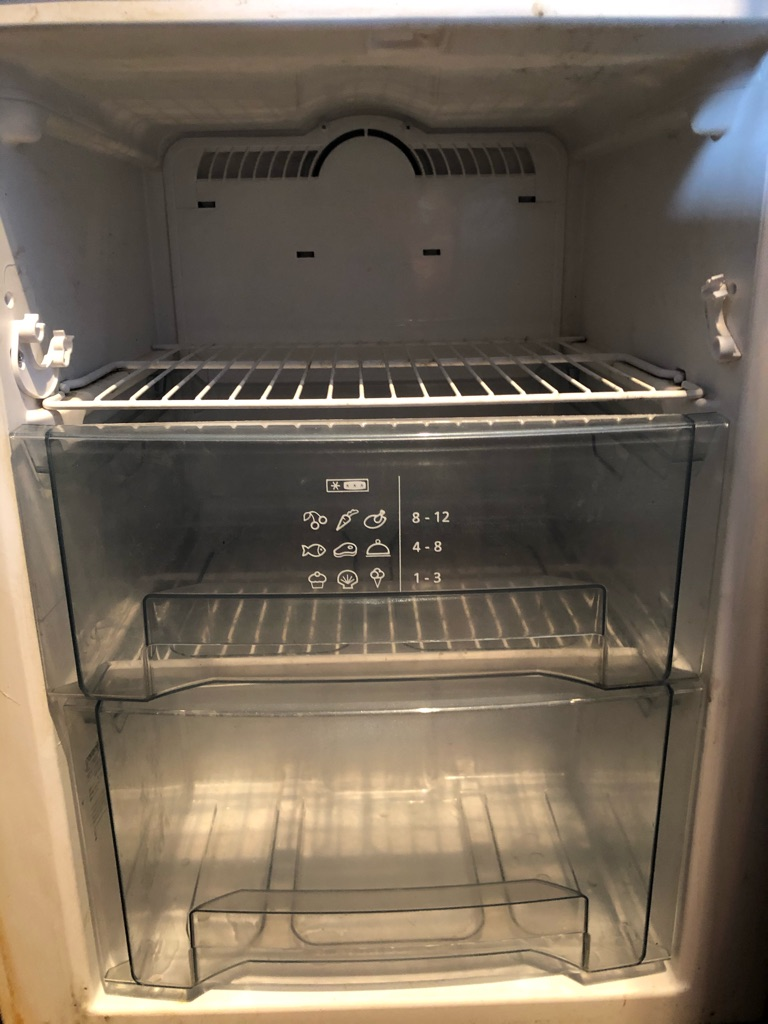 Black Gorenje Fridge Freezer