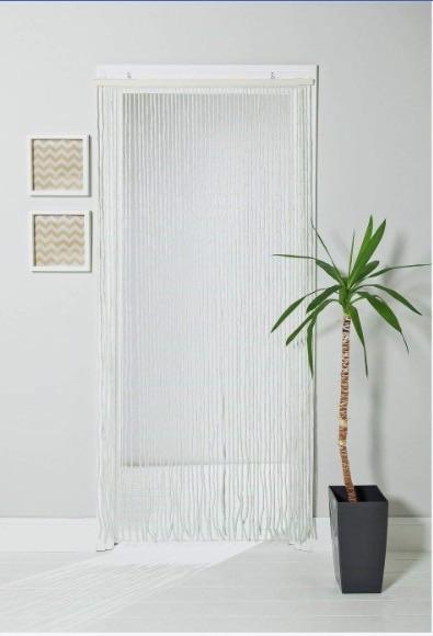 Beaded door curtain