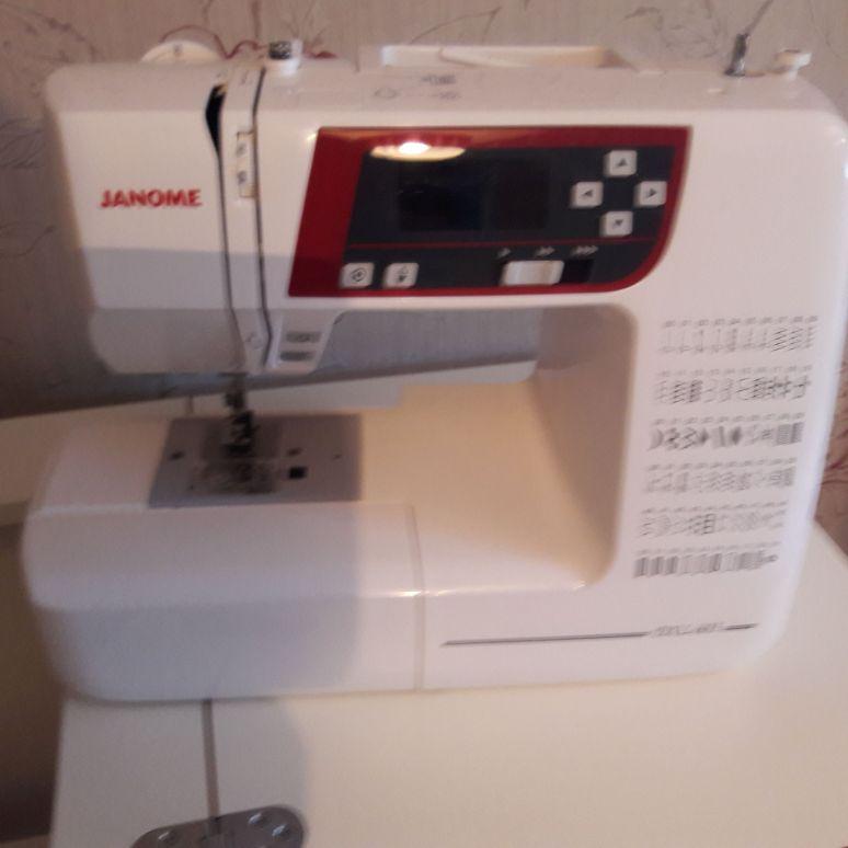 Janome 603 sewing machine