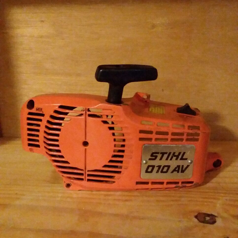 STIHL 010 AV starter recoil assembly