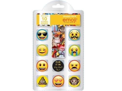 Emoji pack novelty erases