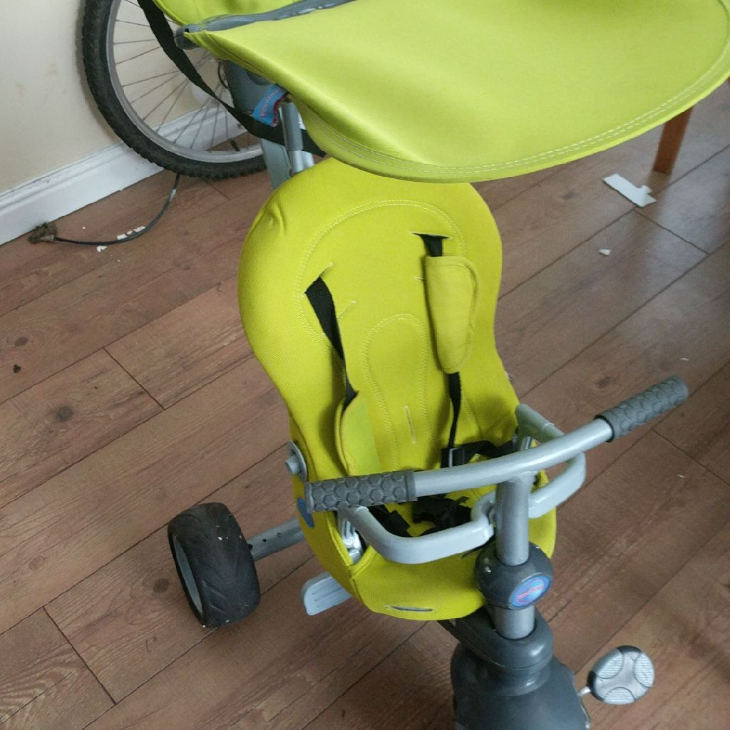 Multi-way baby tricycle