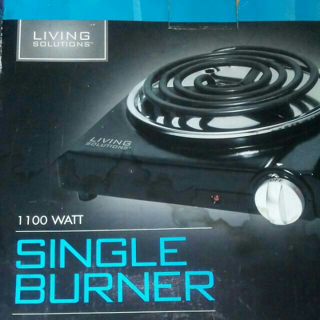Electric Single Cooking burner