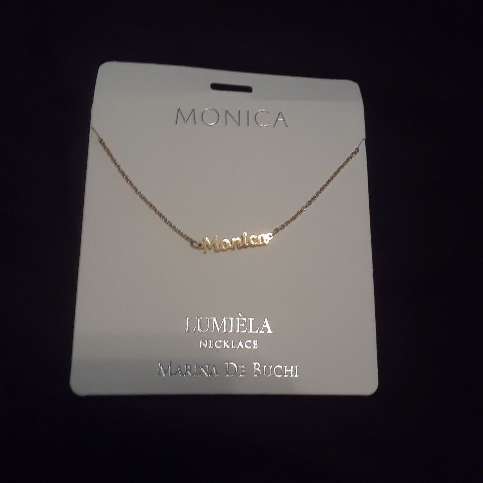Personalized necklace Monica