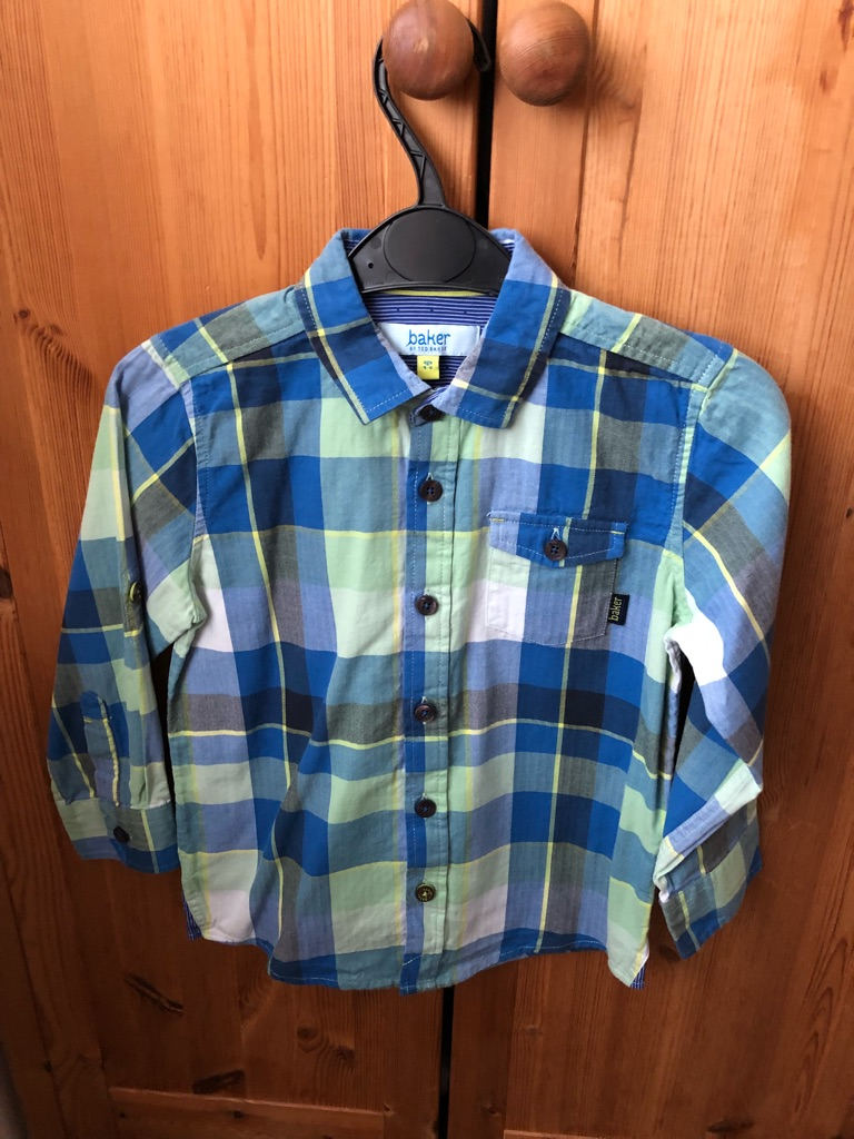 Boys Ted Baker shirt age 4-5 years