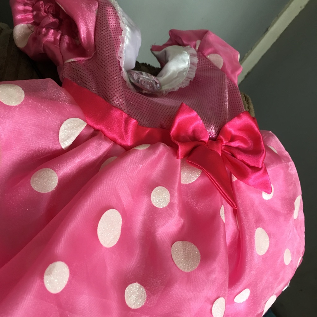 Baby girls Minnie Mouse dress 3-6 months