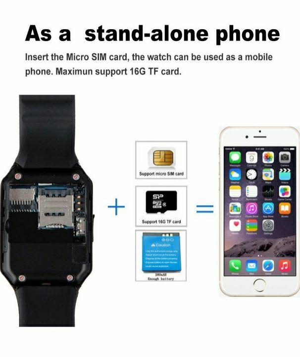 Smart Watch Bluetooth/Camera/Sim