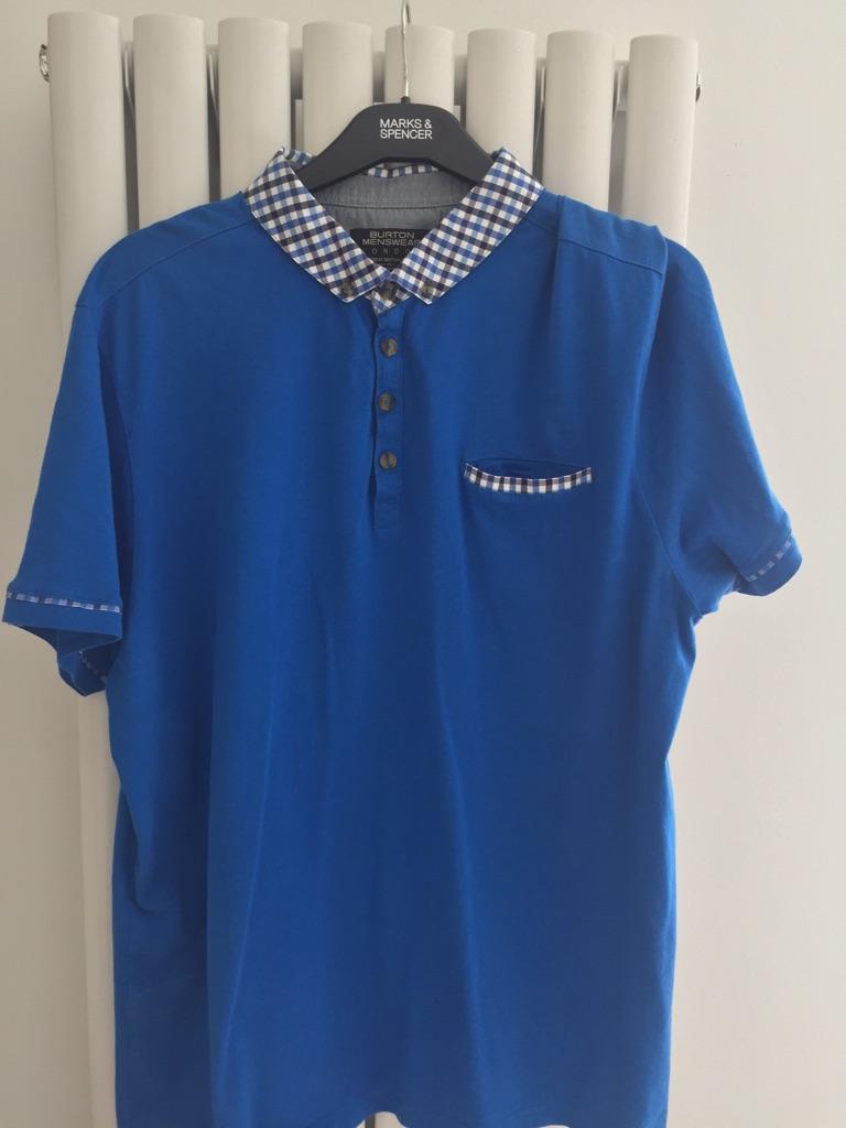 Burton menswear polo t Shirt Size 2XL