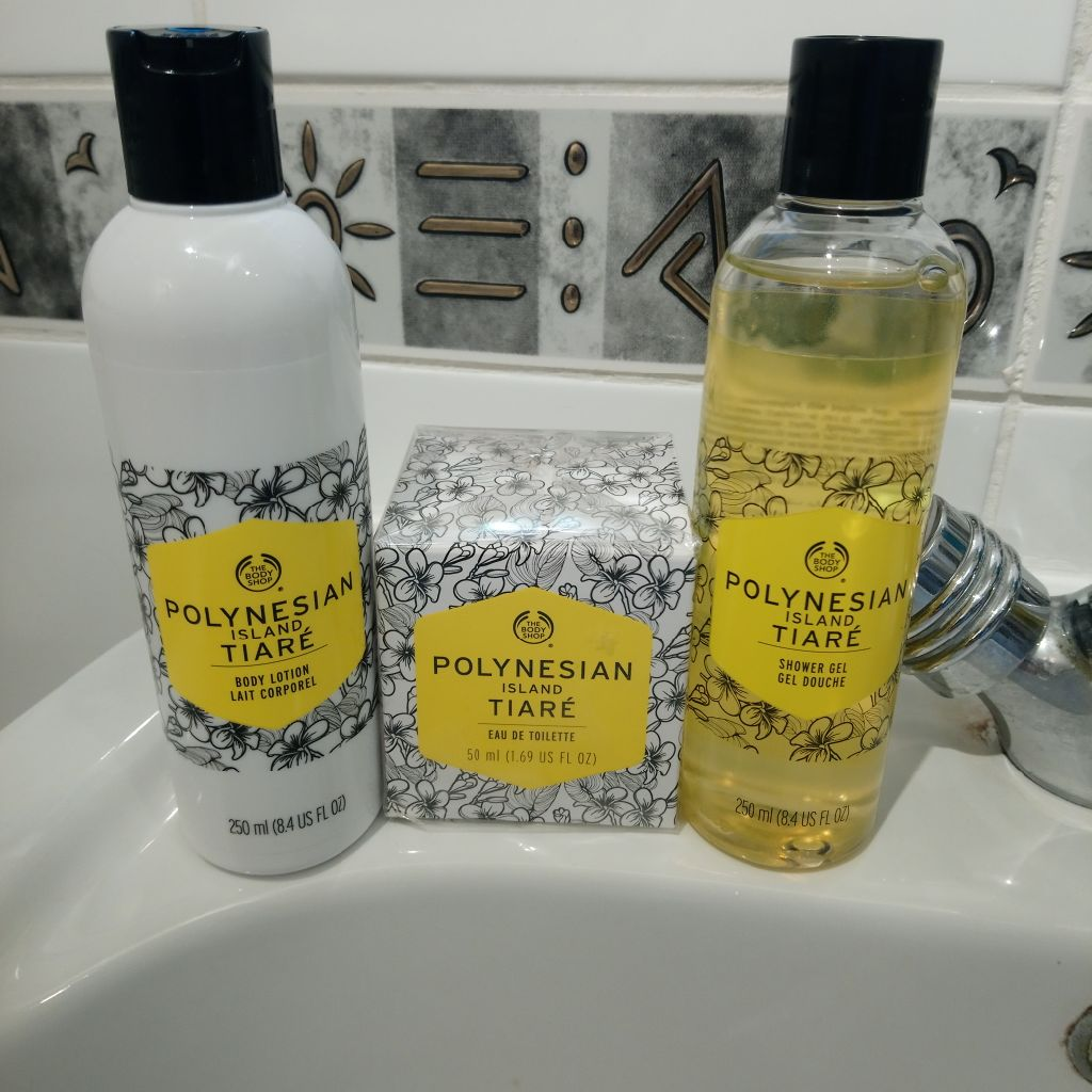 Trio of Body Shop Items - Polynesian Tiare.