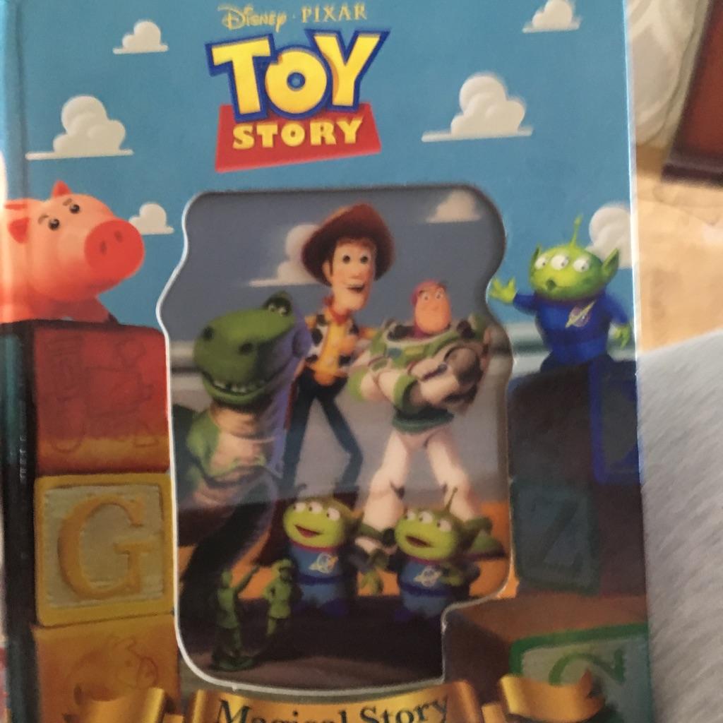 Disney pixar toystory magical story book