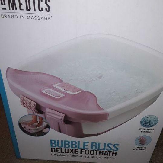 Vibrating footbath