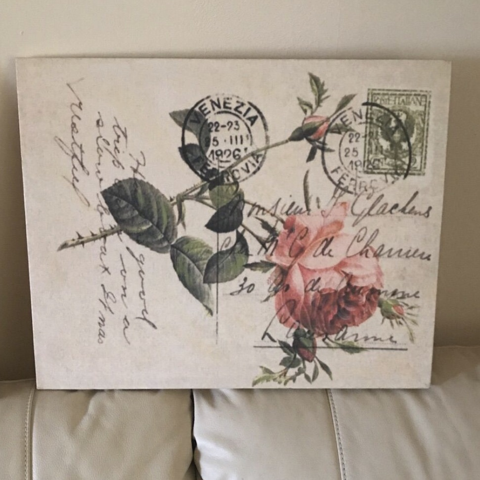 Rose canvas