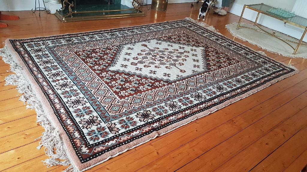 Handmade wool Tunisian Rug
