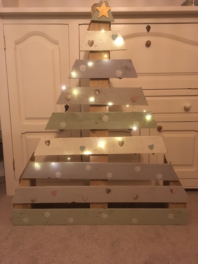 Christmas Tree pallets