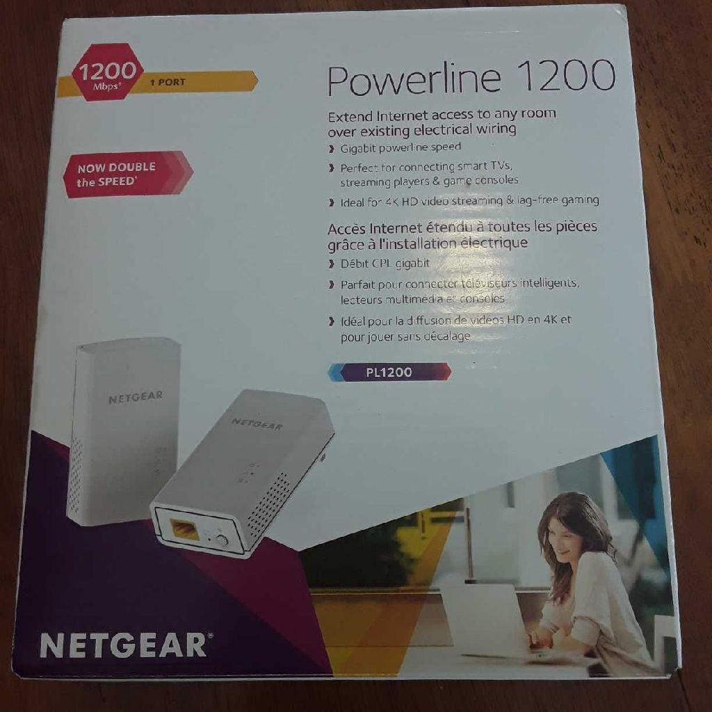 NETGEAR Powerline 1200 Kit
