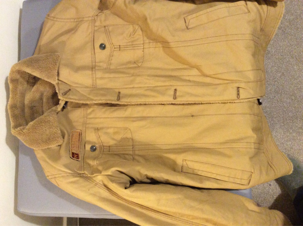 Men's casual cloth jacket, brand new