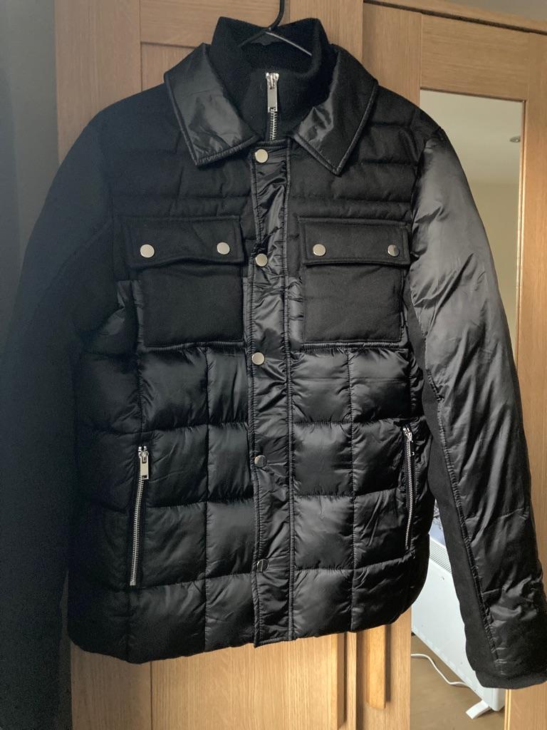River Island Black Padded Jacket
