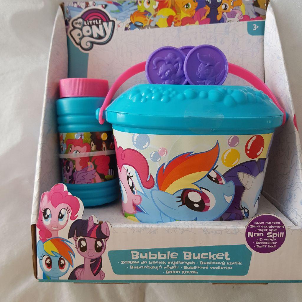 Brand new my little pony bubble bucket