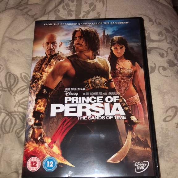 Prince Of Persia The Sands Of Time Dvd Village