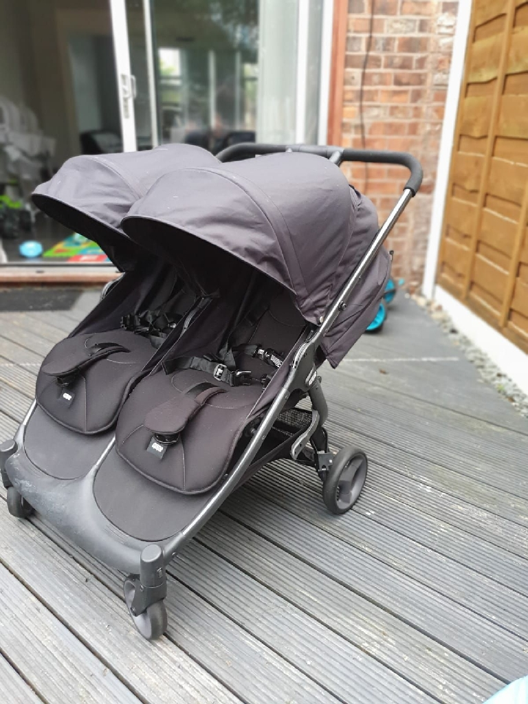 Mamas and papas Armadillo Double Pram