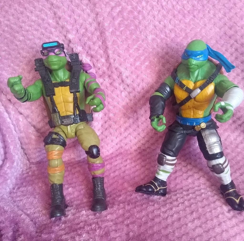 "TMNT 11"" CHARACTORS.  Ugborough ivybridge PL21 0NL"