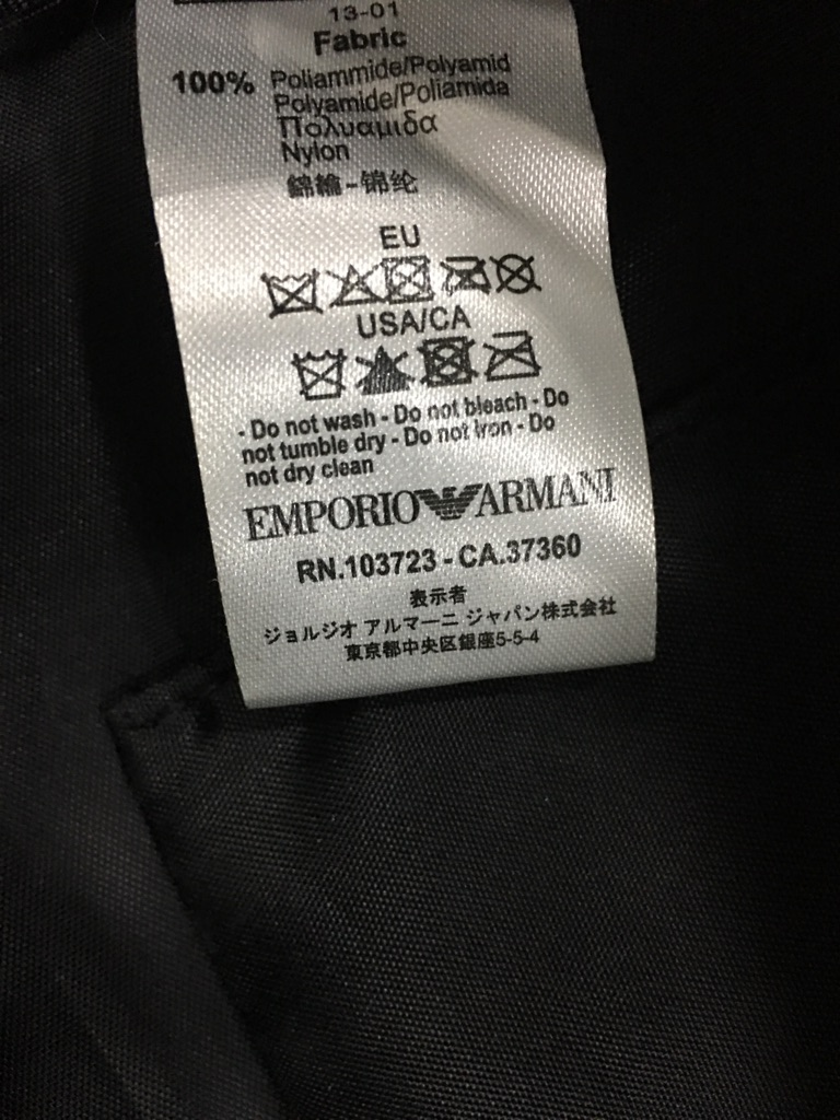 Armani EA7 Backpack