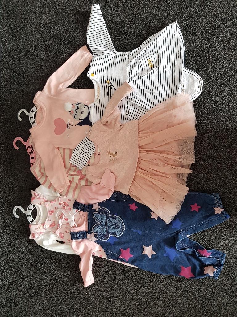 3 - 6 month Girls Clothes Bundle