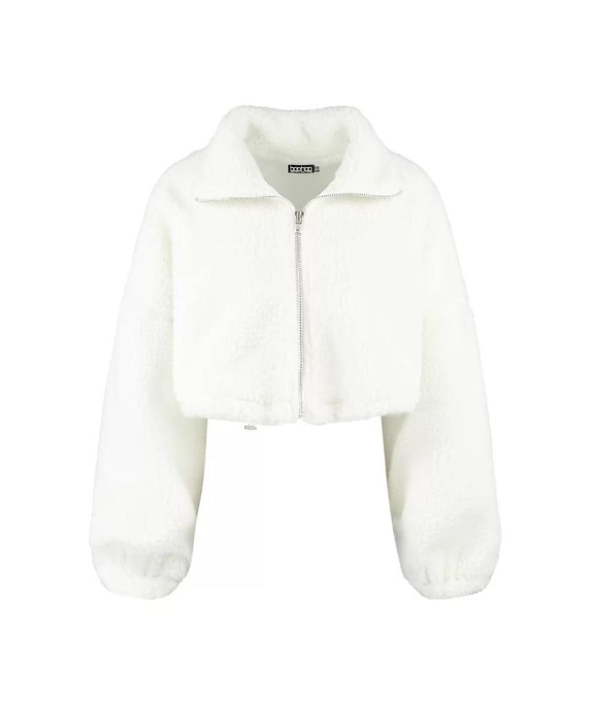 Boohoo Teddy Bear Fur jacket