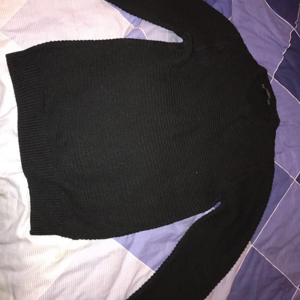 Men's black jumper