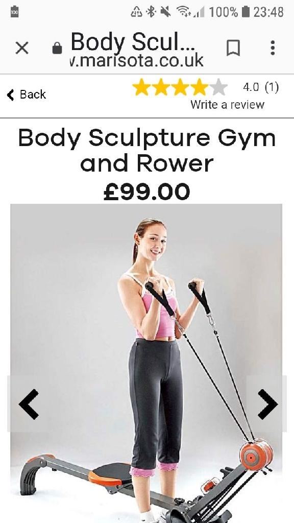 Body sculpture gym rower
