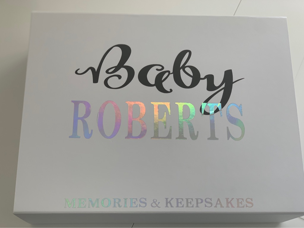 Custom Vinyl - Baby Memories & Keepsakes Box