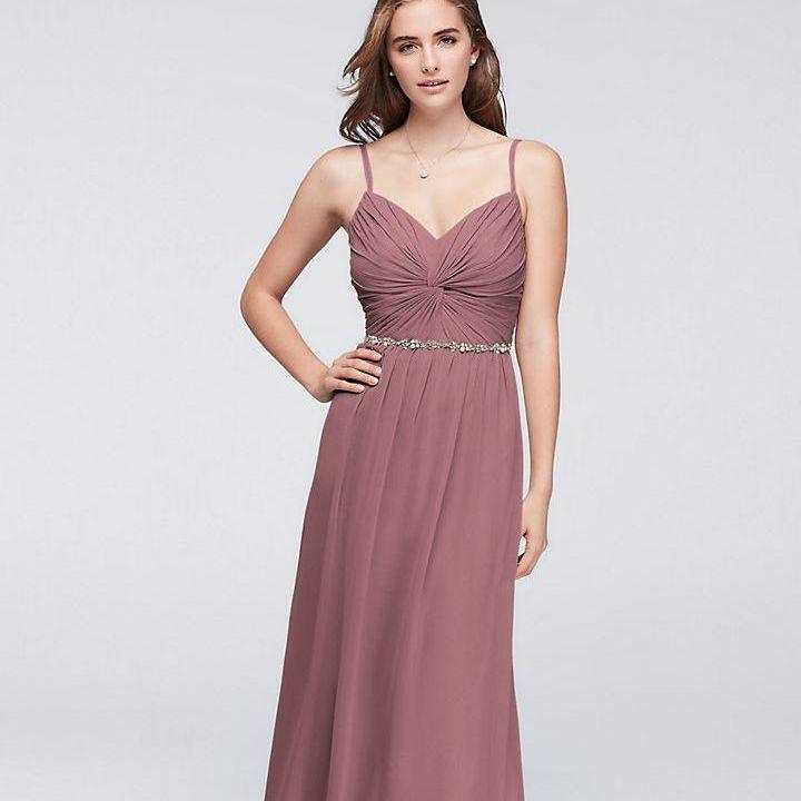 David's Bridal Quartz Bridesmaid dress Size 20