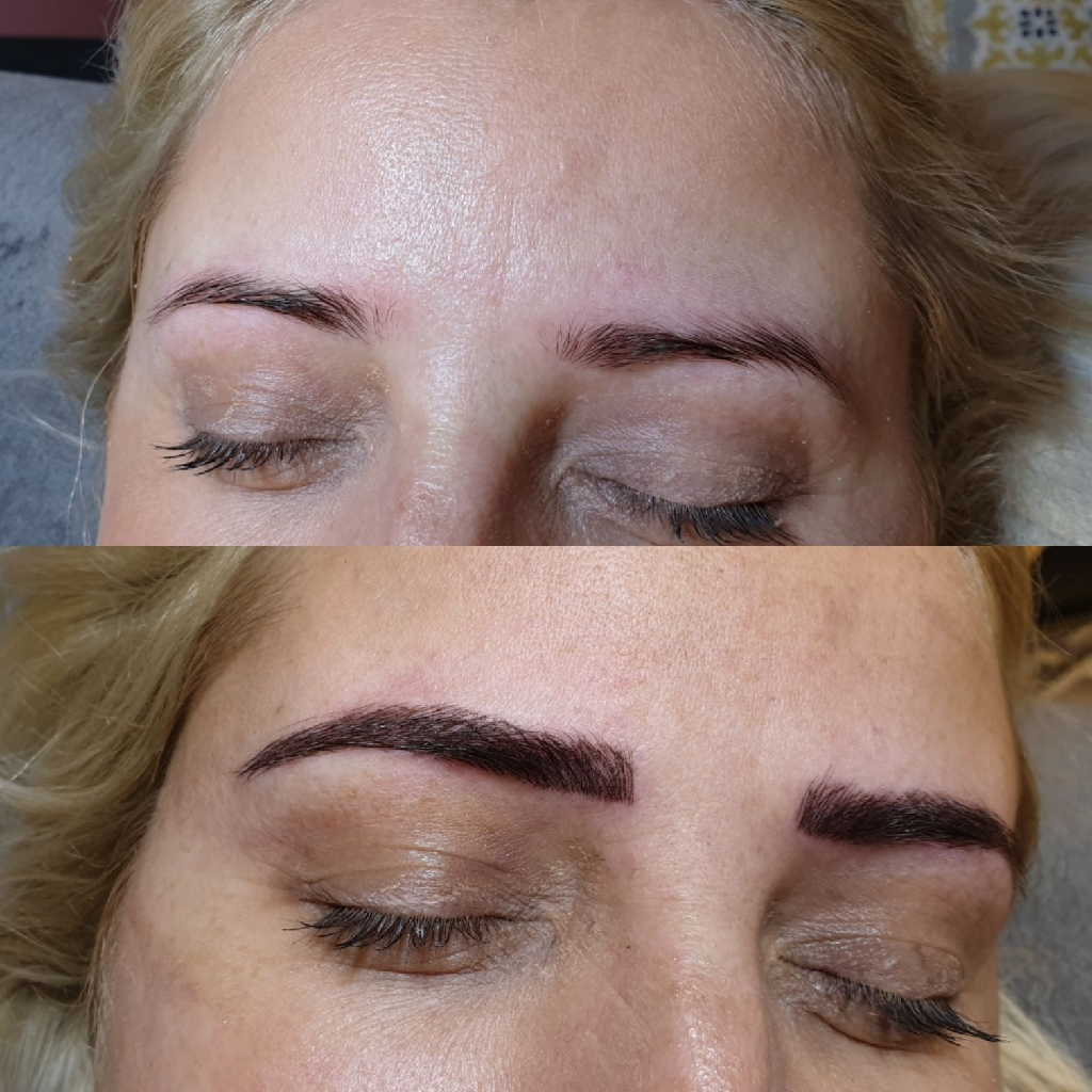 Microblading /Ombre Eyebrows , Eyelash Extensions