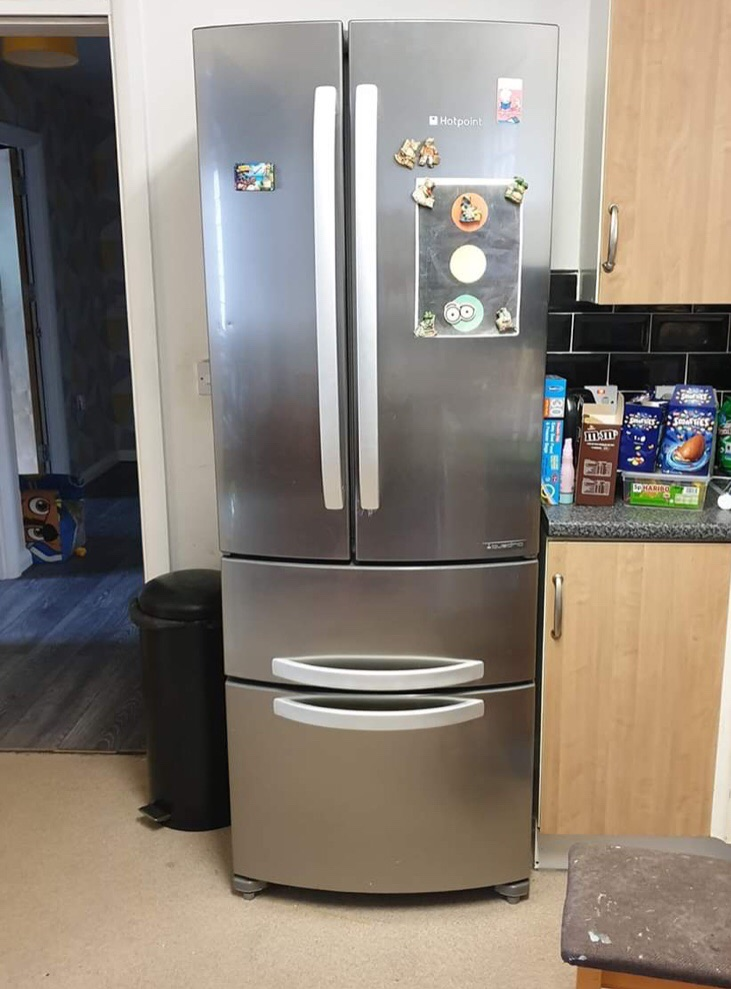 Double fridge freezer