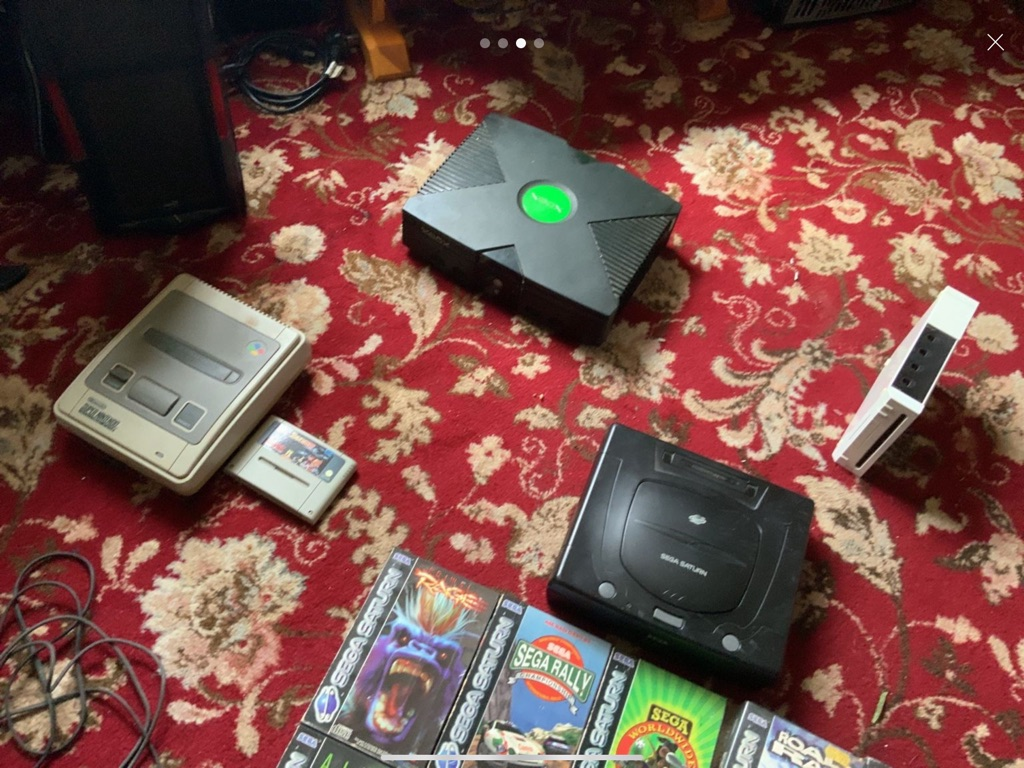 Retro Gaming Consoles and Games