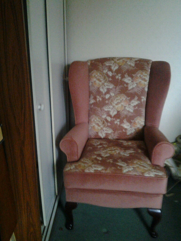 Ladies high backed chair