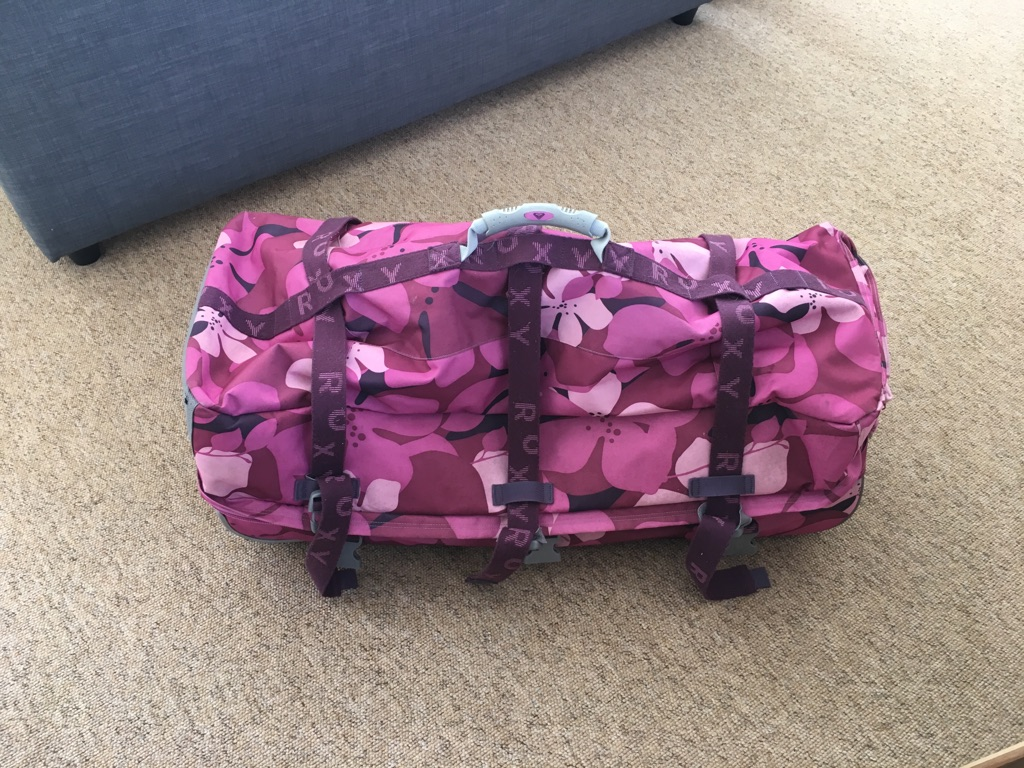 Large Roxy suitcase