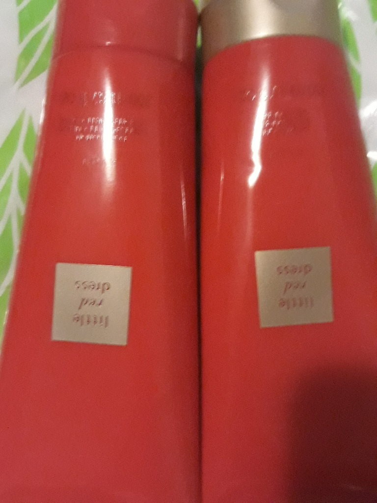 Little Red Dress set Shower Gel and Body Lotin