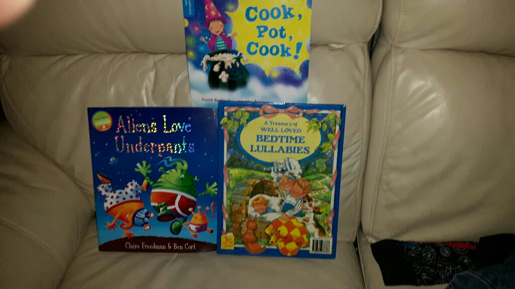 Mixture of Kids Book's