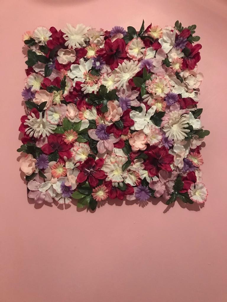 Summer Love Blossom Flower Canvas