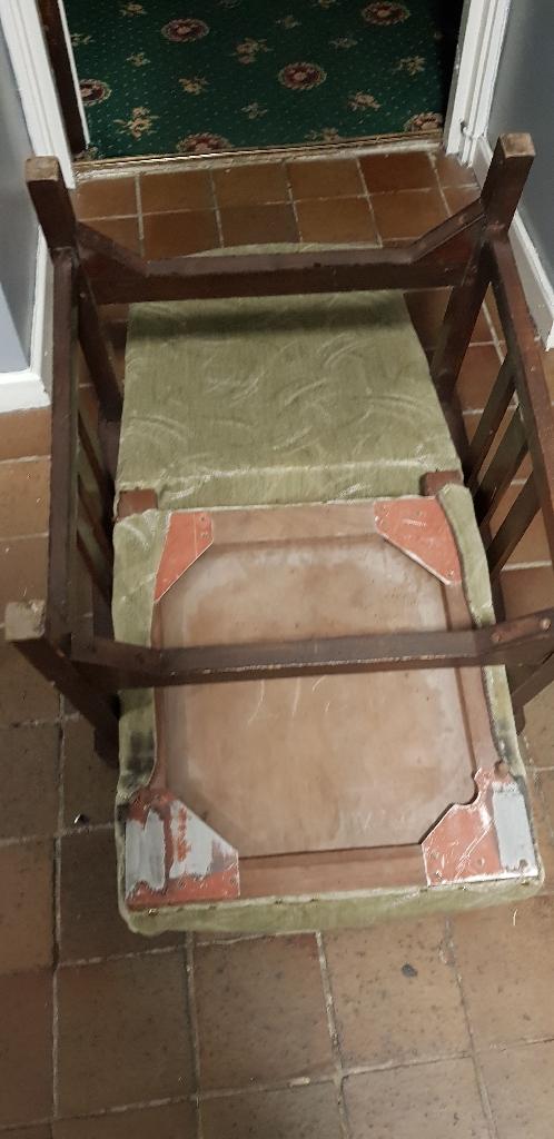 upholsterd small chair
