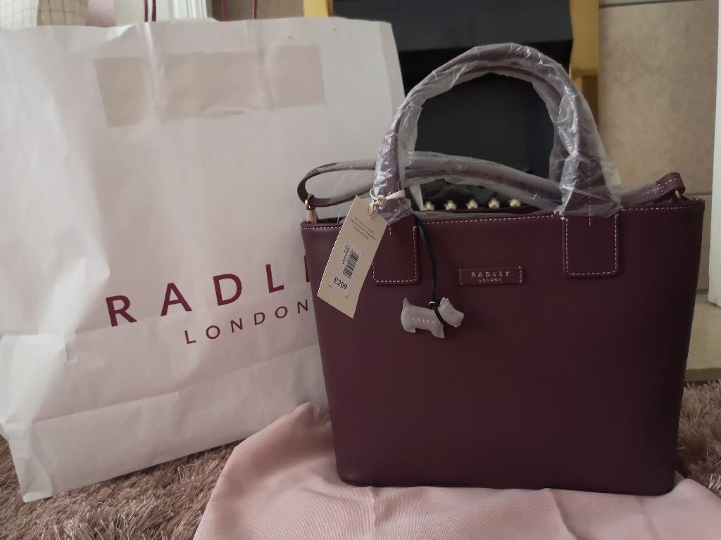 Radley London Farningham Medium bag and love is in the air purse