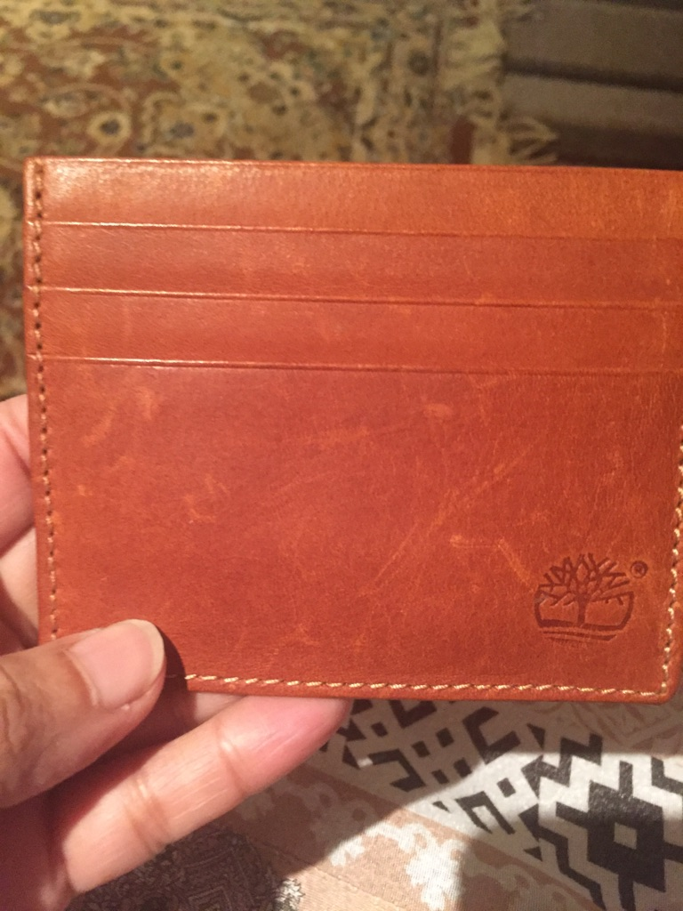 Men's timberlands wallet